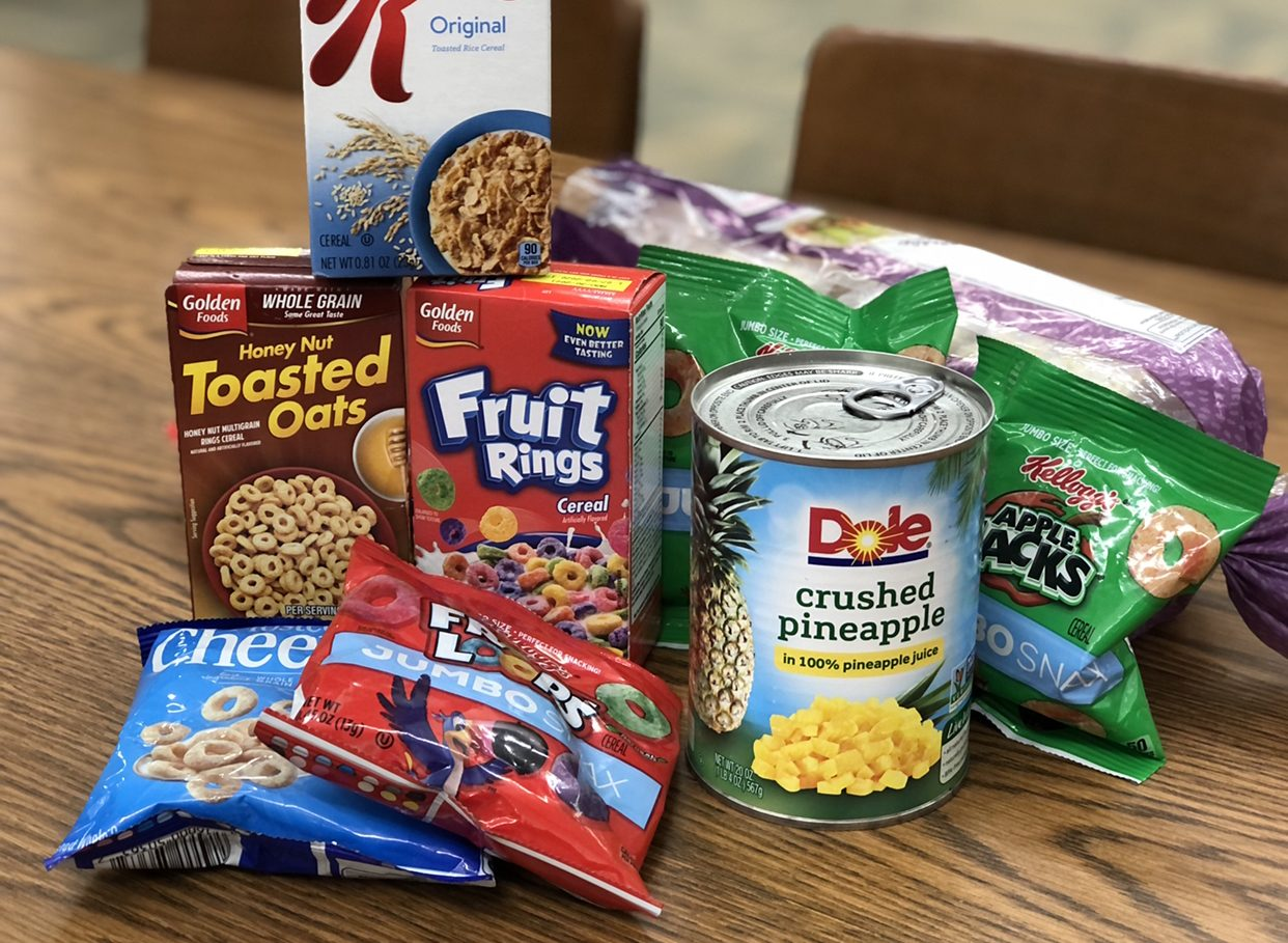 So far, the FCCLA food drive is off to a slow start.  Bring canned or dried food to the library or either of the FACS classrooms to donate.  See signs in the hallway.