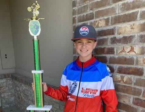 Carson Lackey, BMX Champion